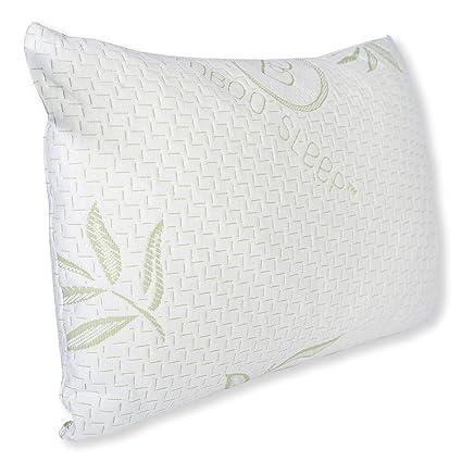 Amazon Hotel Comfort Bamboo Sleep Junior Size Bamboo Memory Interesting Hotel Comfort Bamboo Covered Memory Foam Pillow