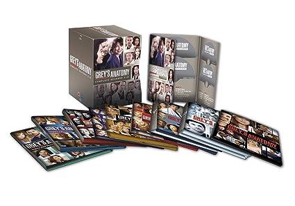 Grey\'s Anatomy TV Series Complete DVD 59 Discs Collection Box Set ...