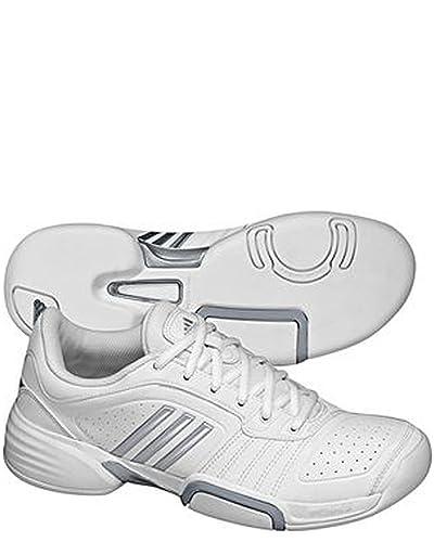 separation shoes a97b8 6115e adidas - Barricade Team Carpet Womens HW10 - WhiteSilver - UK 6