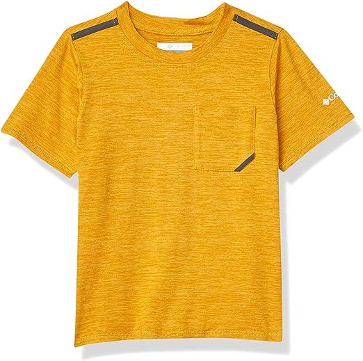 Columbia Tech Trek Camiseta Térmica De Manga Corta, Unisex niños: Amazon.es: Deportes y aire libre