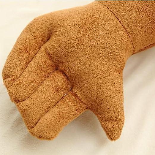 Missley Halten Freund Kissen Muskel-Arm-Mann Hug K/örper warm Brown Bett schlafen Kissen