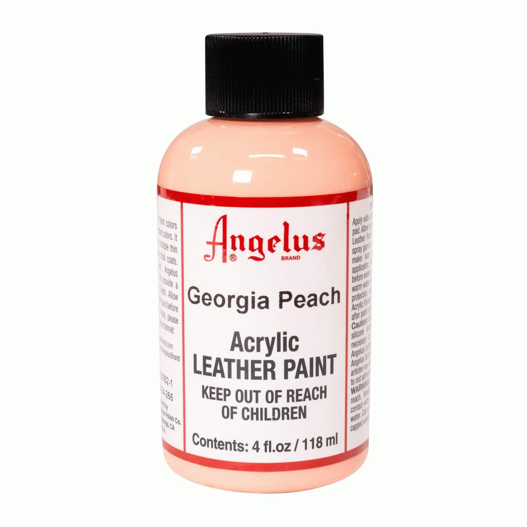 Angelus Leather Paint 4 oz Georgia Peach