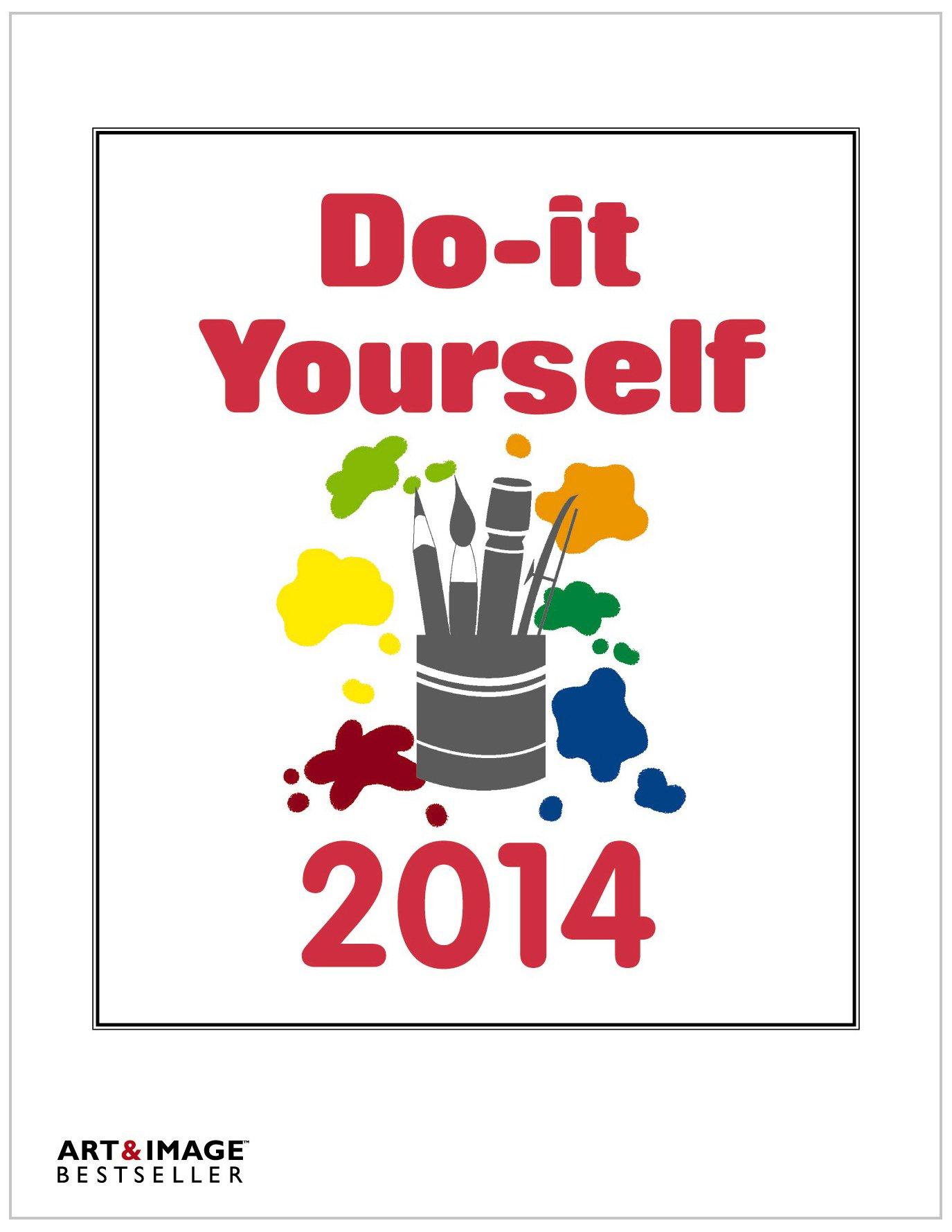 Do-it-Yourself Foto Bastelkalender 2014: Bastelpapier weiß