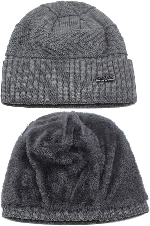 Skullies Beanies Winter Hats for Men Scarf Knitted Hat Women Male Warm Soft Neck Balaclava Hat