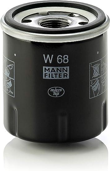 Mann Filter W68 Filtro de Aceite: Amazon.es: Coche y moto