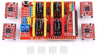 4Pcs CNC Shield Expansion Board A4988 Stepper Motor Driver Module with Heatsink for Engraver 3D Printer