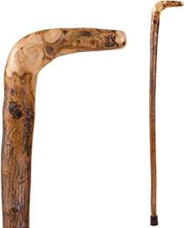 product image for Brazos Walking Cane for Men and Women Handcrafted of Lightweight Wood and made in the USA, Wood, 40 Inches