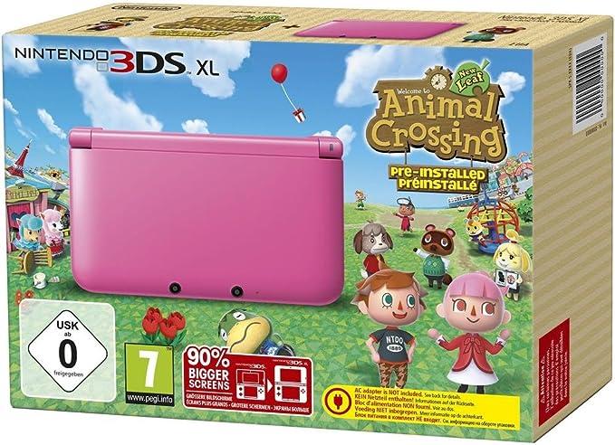 Nintendo 3DS XL - videoconsola portátil - rosa: Amazon.es: Videojuegos