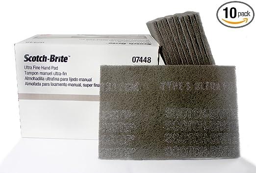 """Scotch-Brite 61500195054 37448 Ultra Fine Hand Pad 6/"""" x 9/"""""""