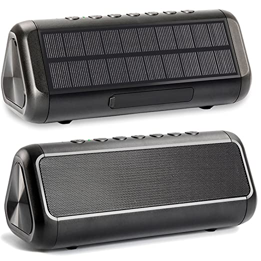 Review Solar Bluetooth Speaker, Friengood