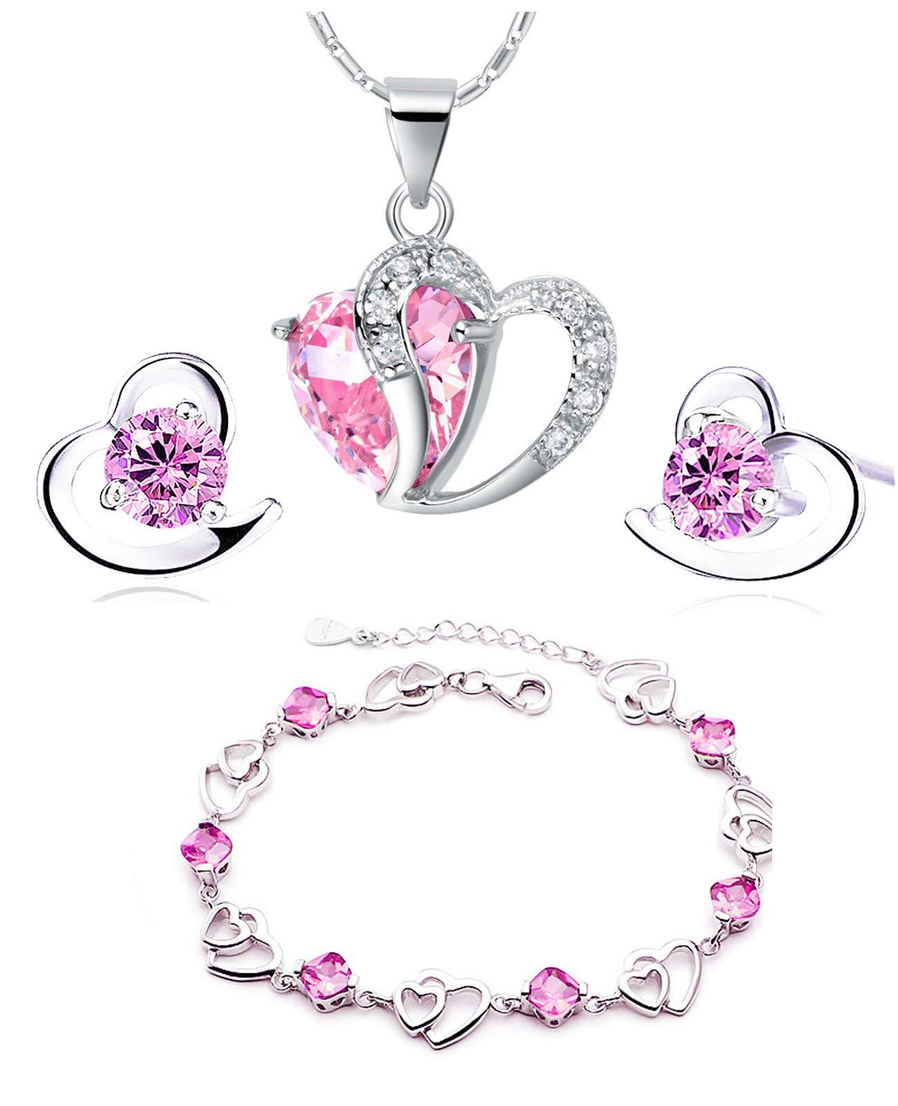 604f26c20594 Mejor valorados en Juegos de joyas para mujer   Opiniones útiles de ...
