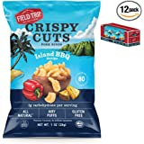 Field Trip Gluten Free, High Protein, Island BBQ Pork Rinds, 1oz Bag, 12 Count