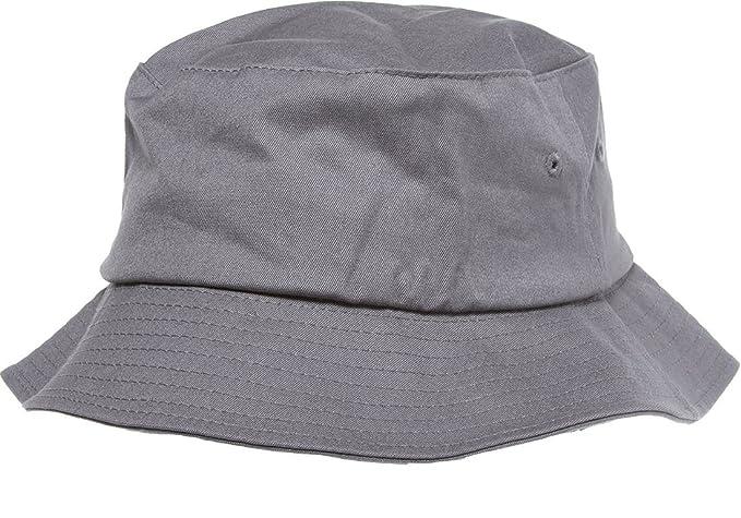 1c0735ab4d5 Flexfit Bucket Hat (Grey) at Amazon Men s Clothing store