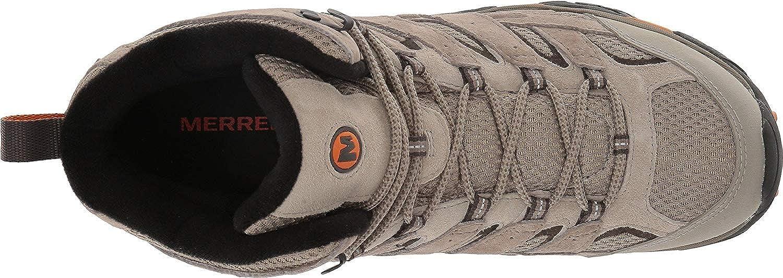 Merrell Men's Moab 2 Mid Waterproof Hiking Boot Brindle