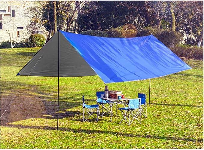 L&Z Canopy pliant UV Abat-jour Auvent Camping Auvent Pergola Auvent de protection Soleil pluie: Amazon.es: Deportes y aire libre