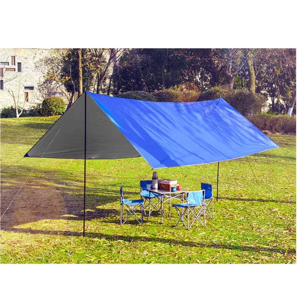 L&Z Himmel zusammenklappbar UV-Schaukeldach Outdoor Camping Sonnensegel Pergola Sonne Schutz Regen Vordach