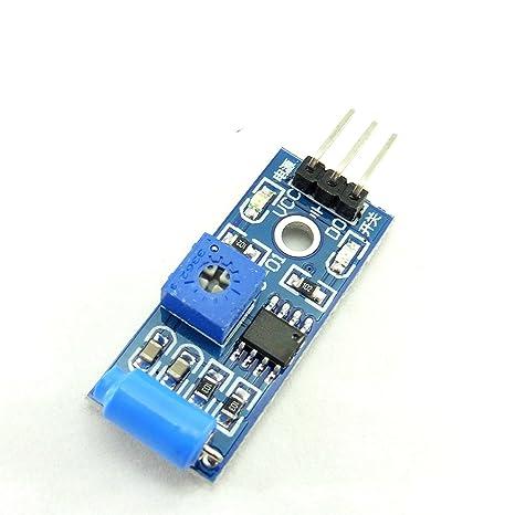 daorier SW-420 Sensor de movimiento módulo de alarma de ...