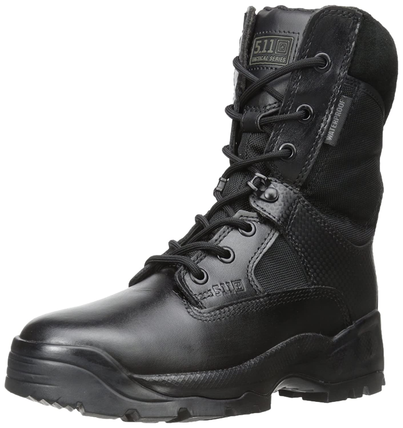 5.11 Women's A.T.A.C. 8'' Storm Tactical Boots, Style 12217 B006BU7UGA 7 D(M) US|Black