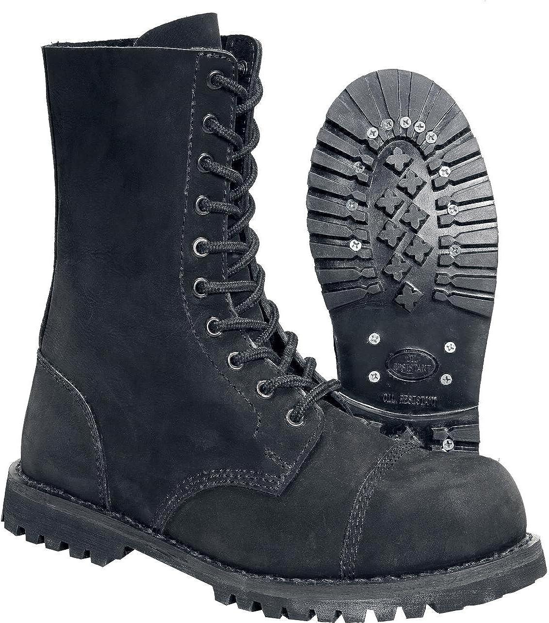 Brandit Phantom Daim Bottes en Cuir Nubuck Leather Boots