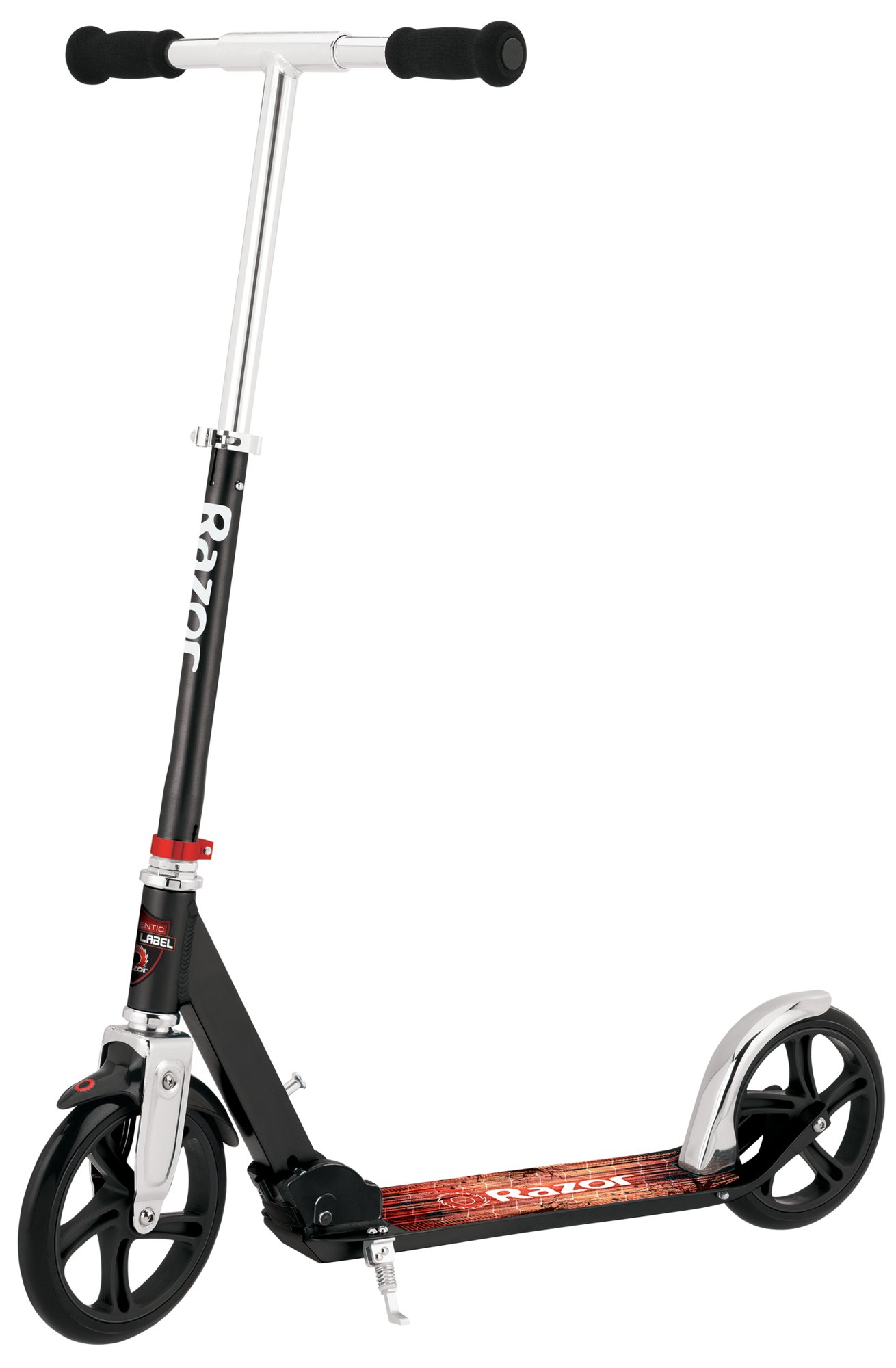 """Razor A5 Lux Kick Scooter - Large 8"""" Wheels, Foldable, Adjustable Handlebars, Lightweight, for Riders up to 220 lbs"""