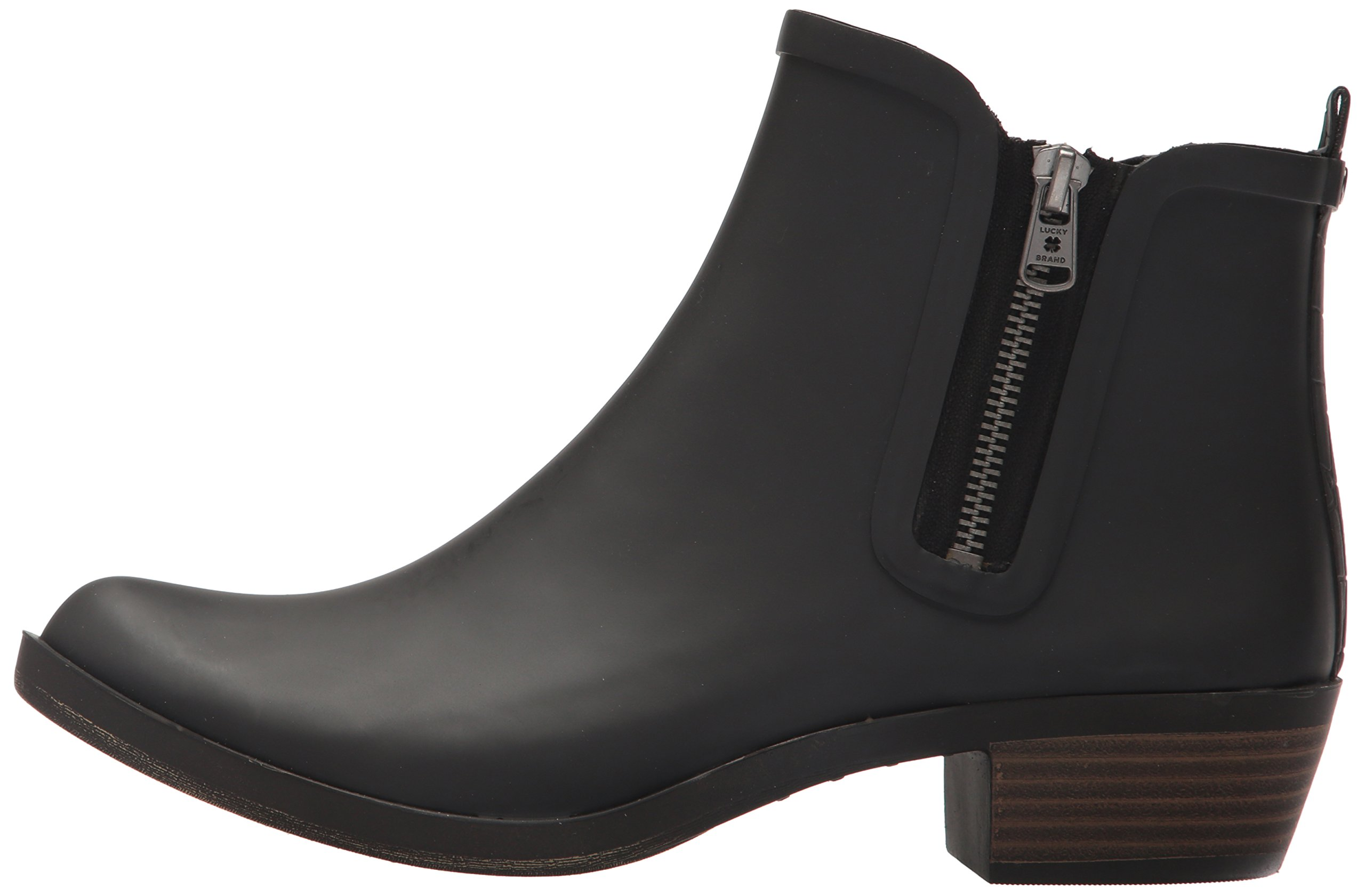 Lucky Brand Women's Baselrain Rain Boot, Black Crocodile, 10 Medium US by Lucky Brand (Image #5)