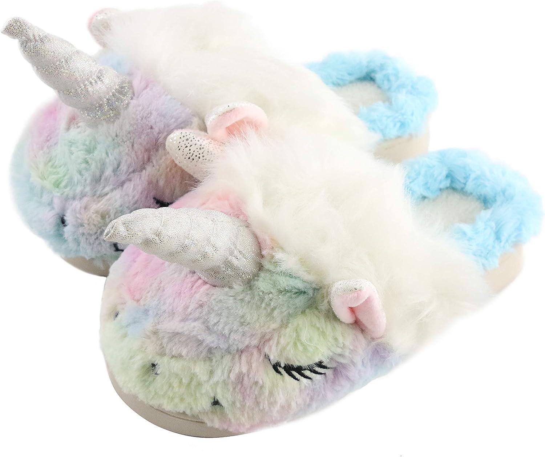 Slippers Soft Plush Waterproof Sole