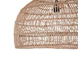 KOUBOO 1050100 Open Weave Cane Rib Dome Hanging