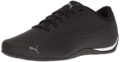 a13cba00b008 PUMA Men's Drift CAT 5 Ultra Walking Shoe, Black-Quiet Shade, ...
