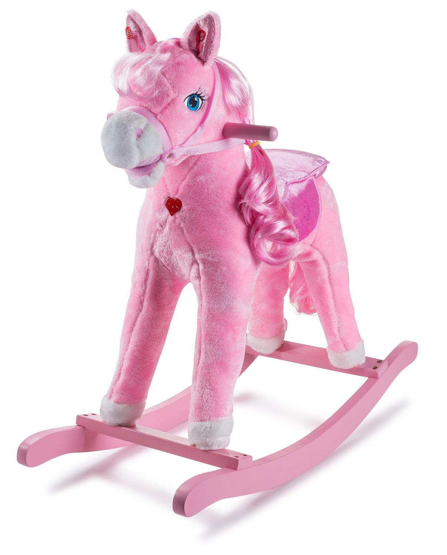 Princess Rocking Horse Pony Pink JOON JR671-PNK