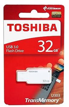 Toshiba Akatsuki 32GB USB Pendrive (White) Pen Drives at amazon