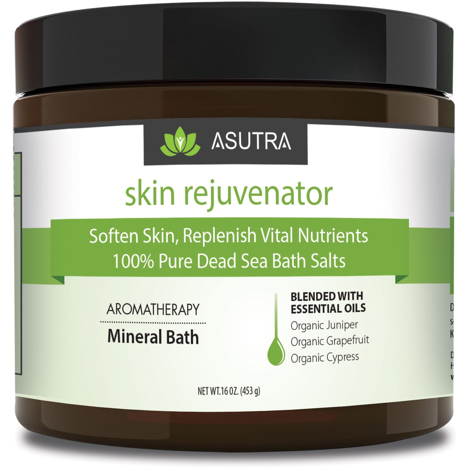 """SKIN REJUVENATOR"" - 100% Pure Dead Sea Bath Salts"