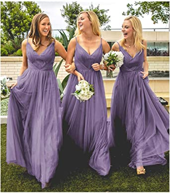 Amazon Com Dresspic Women Cute Tulle Wedding Bridesmaid Dress Evening Party Dress B013 Clothing,Formal Summer Beach Wedding Guest Dresses