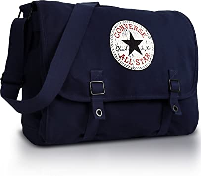 Converse Shoulder Bag Vintage Patch Canvas, dark blue, 15.96 liter, 98306A 18