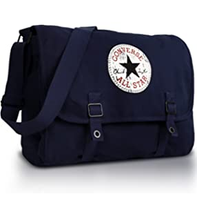 Converse Unisex Vintage Patch Canvas Shoulder Bag (Yellow