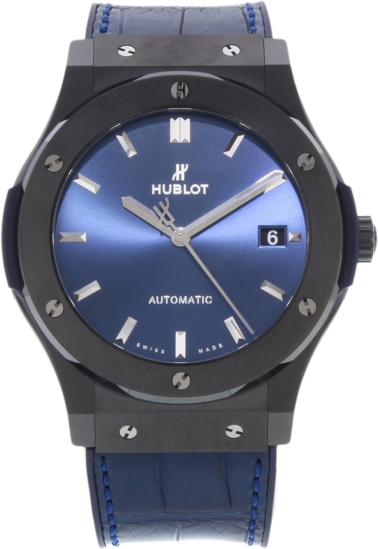 Hublot Classic Fusion - Reloj para hombre (cerámica, 45 mm, 511.CM.7170.LR)