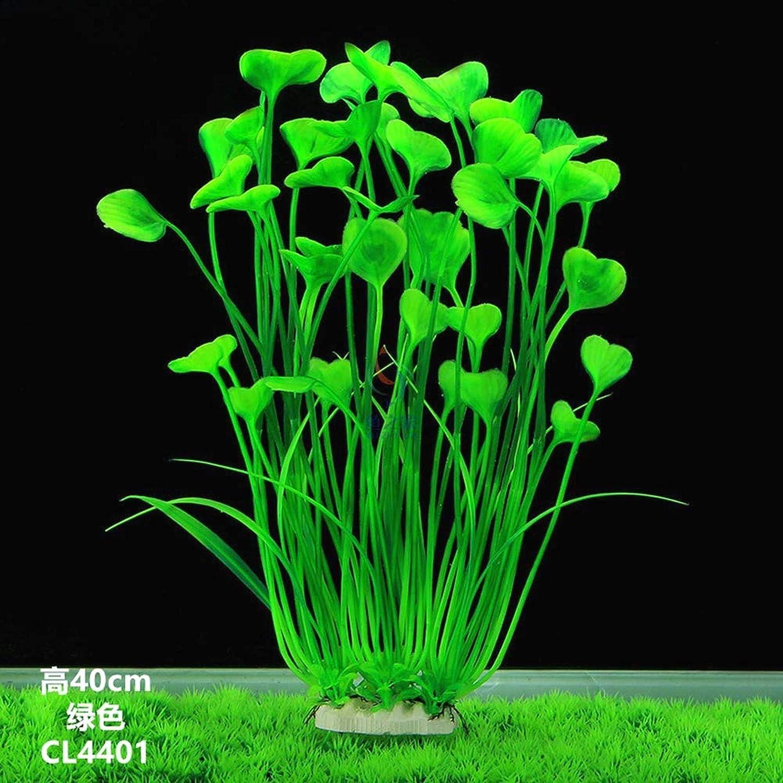 KOKO Zhu Simulación Agua Hierba Decoración-Hierba Acuario Acuario Paisajismo Plástico Acuario Acuario Decoración Hierba de Agua Falsa