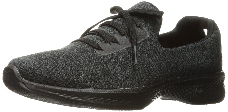 Skechers Performance Women's Go Walk 4 A.D.C. All Day Comfort Walking Shoe B01J2O0SO2 9.5 B(M) US|Black/Gray