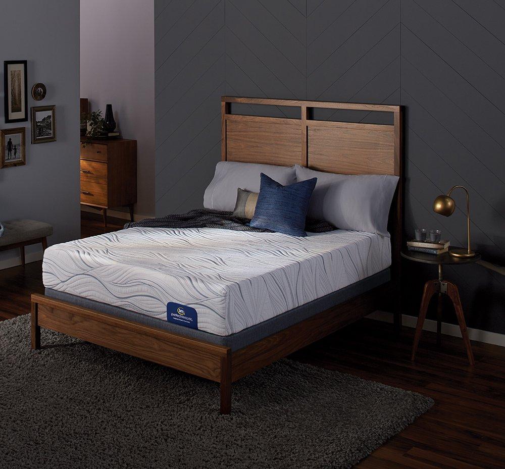 amazon com serta perfect sleeper plush 500 memory foam mattress