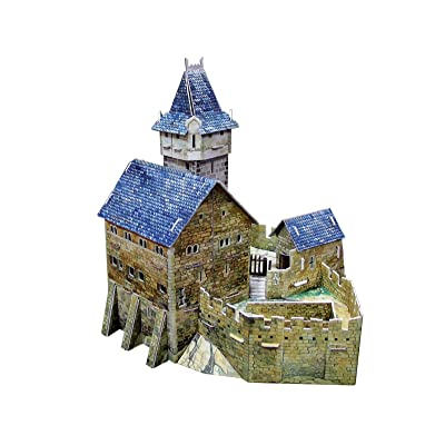 Clever Paper Hunting Castle with Figures: Toys & Games