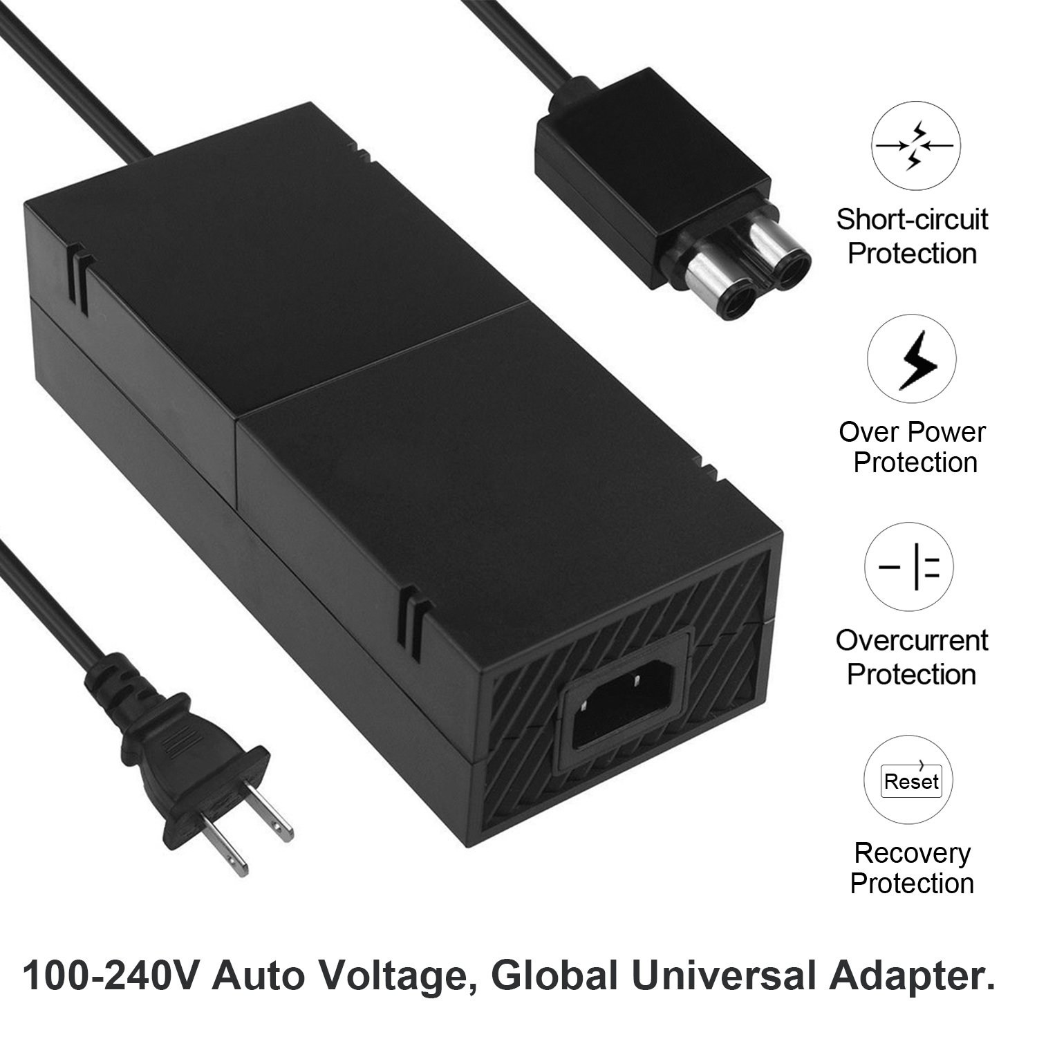 Xbox One Power Supply Brick Cord Yteam Ac Adapter Laptop Circuit A Typical For Great Charger Charging Accessory Kit With Cable