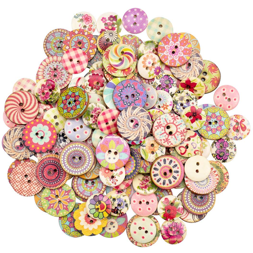 5 or 10 15mm Lilac Glitter Heart Buttons 2 Hole in Packs of 2