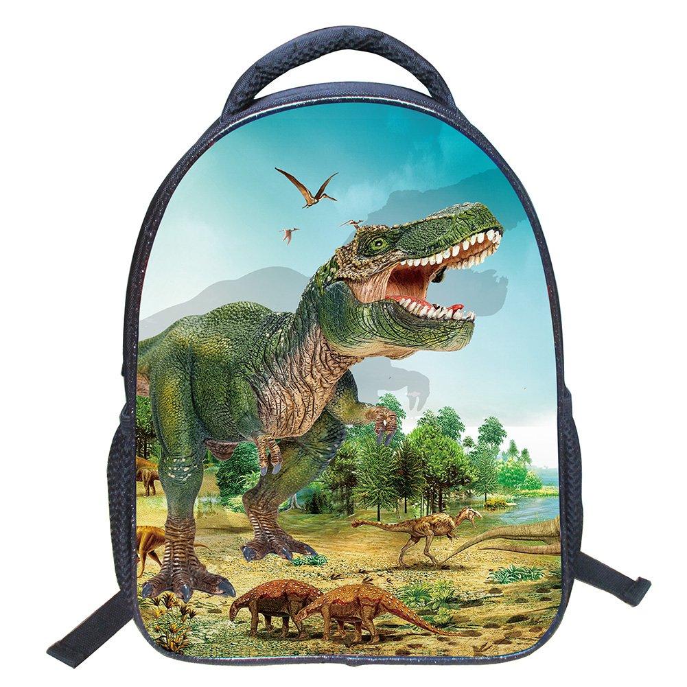 ビーコンペットクール3d恐竜キッズ学校バックパック子供3d動物印刷ブックバッグ   B07DB7H2X3