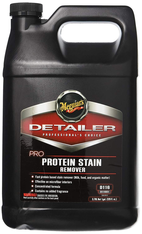 Meguiar's D11601 Pro Protein Stain Remover, 1 Gallon, 128. Fluid_Ounces by Meguiar's