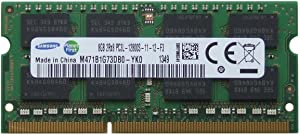 Samsung original 8GB (1 x 8GB) 204-pin SODIMM, DDR3 PC3L-12800, 1600MHz ram memory module for laptops
