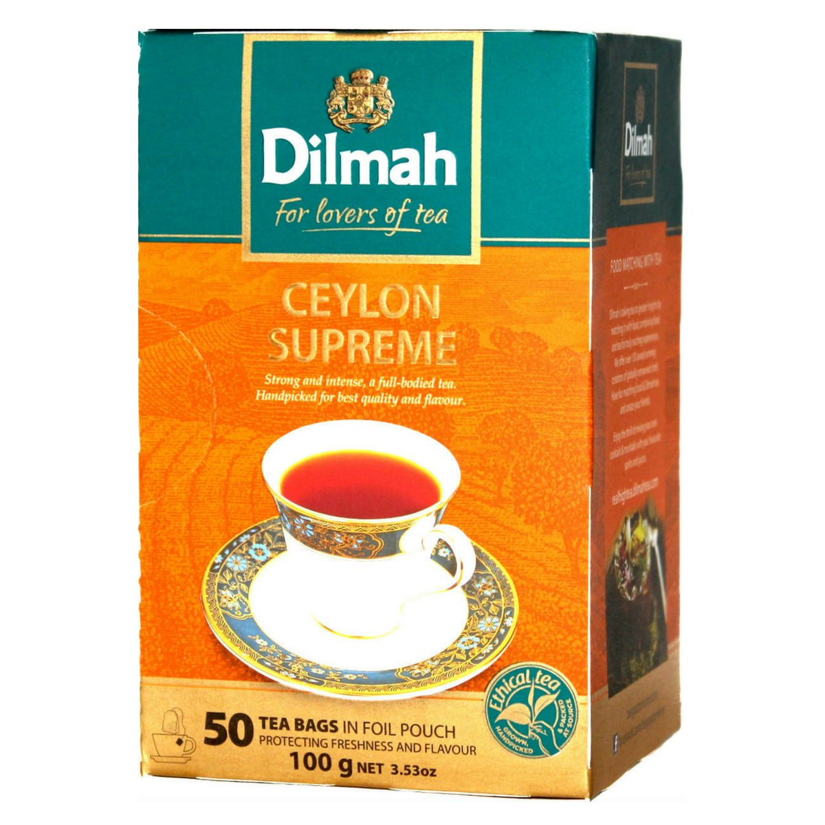 Dilmah Strong Tea 100 g Sri Lankan Best Quality Tea