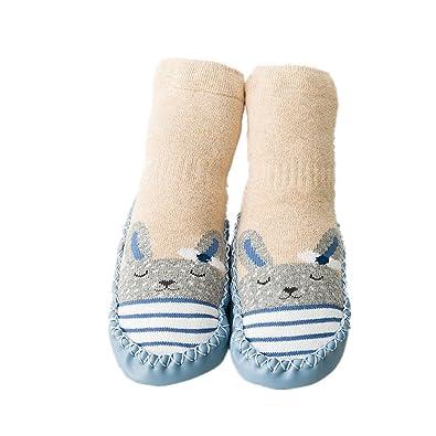 Calcetines de bebé, AMEIDD Calcetines de bebé niña niño Calcetines ...
