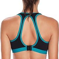 vivicoco Women's Sports Bras Low and Medium Impact Yoga Sports Bra
