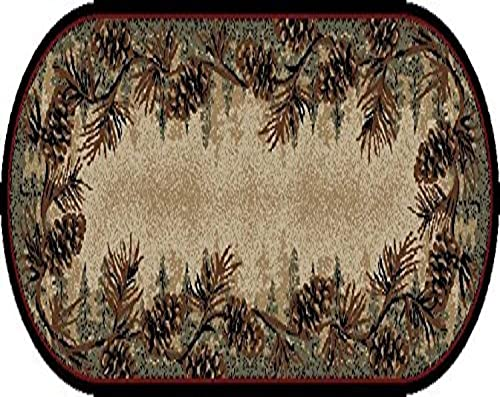 Mayberry Rugs Rustic Lodge Mount Le Conte Area Rug