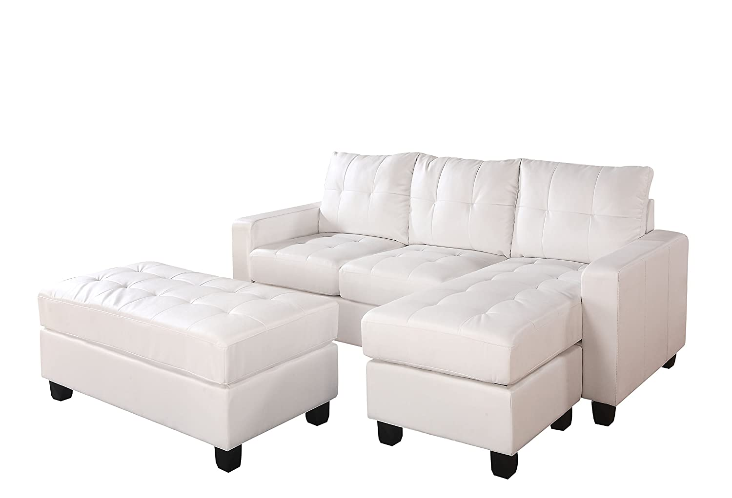 Rev. Chaise Sectional and Ottoman