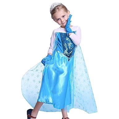 Robe paillette fille 10 ans